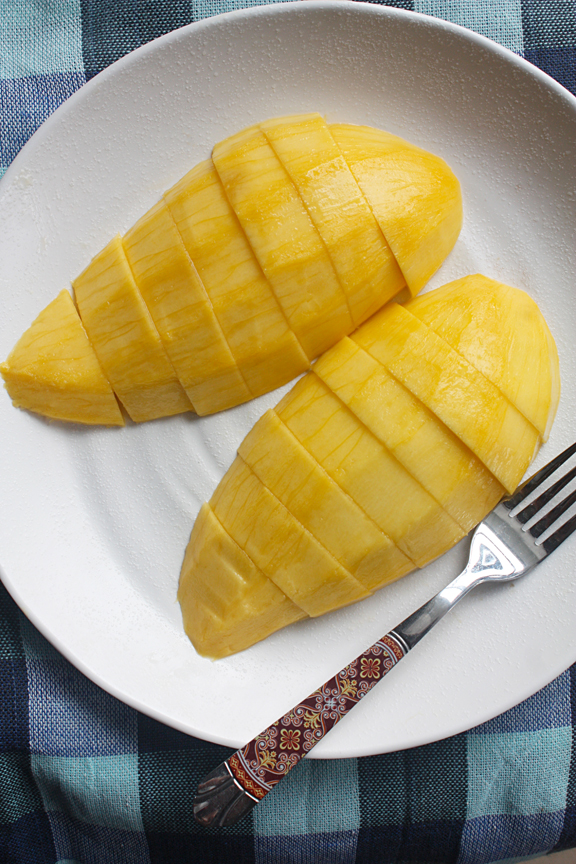 How to peel and slice a mango ccuart Choice Image