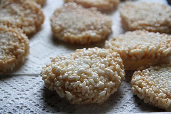 Chewy rice cake recipe