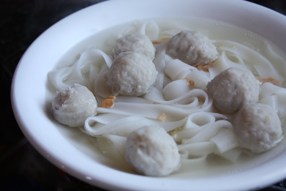 noodles with broth