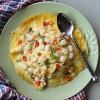Creamy Egg Crepe on Rice