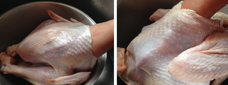 Roasted Turkey with Thai Aromatic Paste