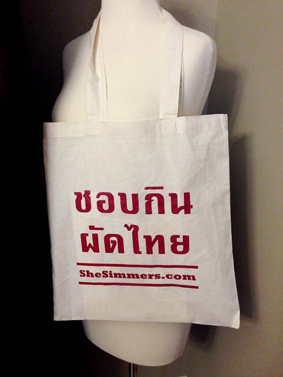 I Love Pad Thai Tote Bag