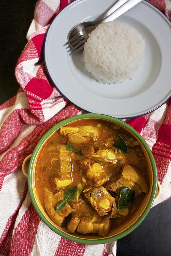 Southern Thai Pork Rib Curry