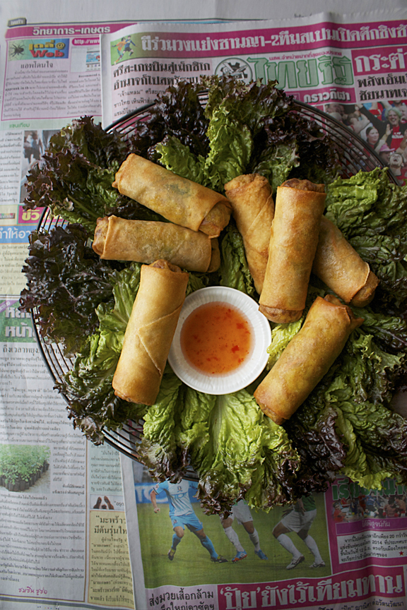 An Interview with Chicago Reader Restaurant Critic, Mike Sula, and an Egg Roll Recipe from Spicy Thai Lao Restaurant in Chicago