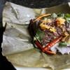 Northern Thai Steamed Pork-Blood Rice - Kaho Kan Jin