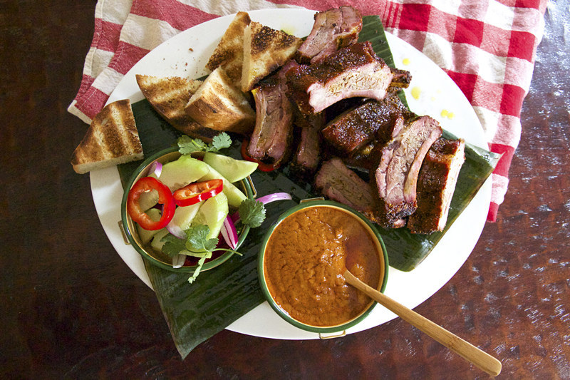 Saksith Saiyasombut and Grilled Baby Back Rib Satay