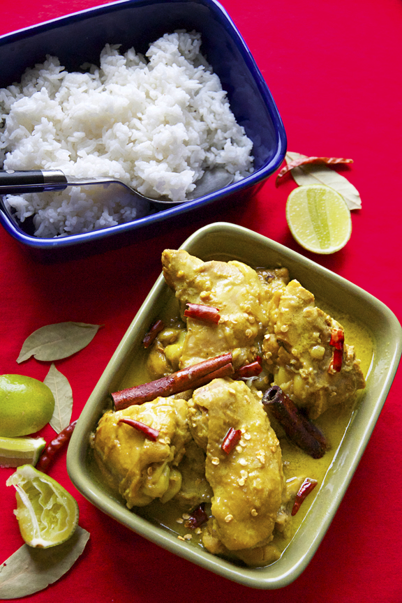Yul Brynner's Thai Chicken Yellow Curry