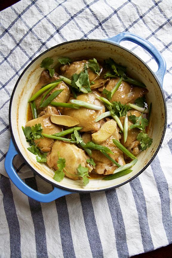 Gingered Chicken Stew