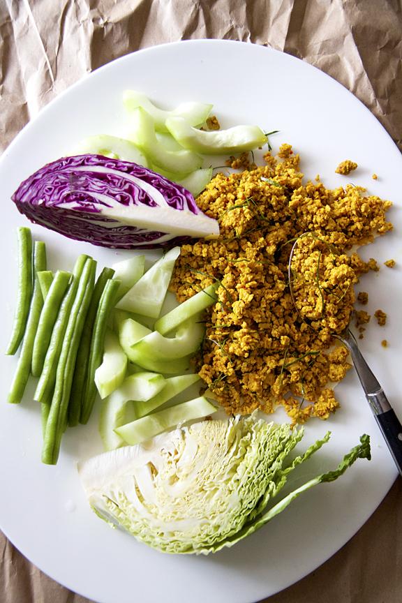 Khua Kling Pak Sod Restaurant - Southern Thai Dry Curry (Khua Kling)