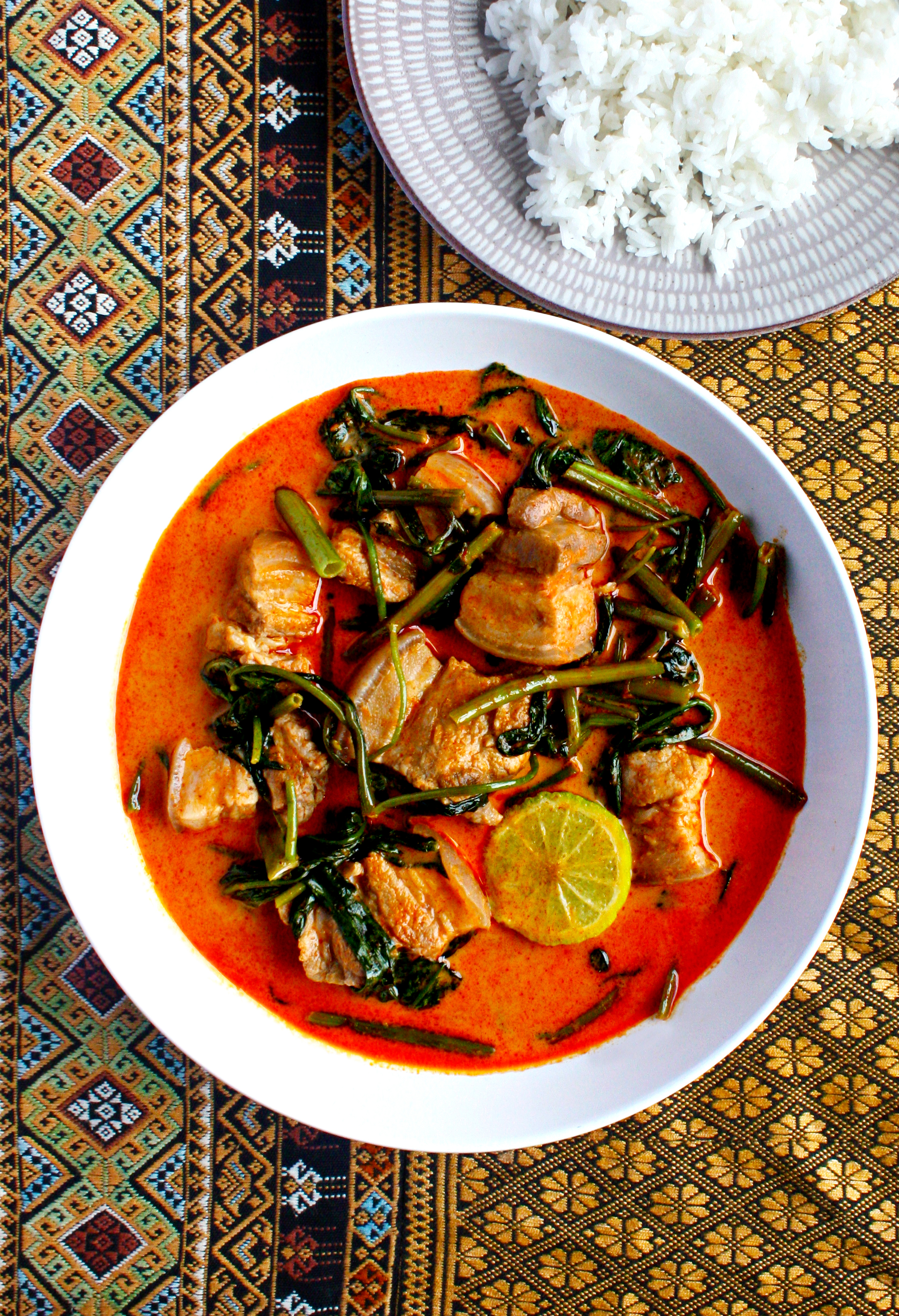 Sweet and Sour Red Curry with Pork Belly from Immm Rice & Beyond in Chicago