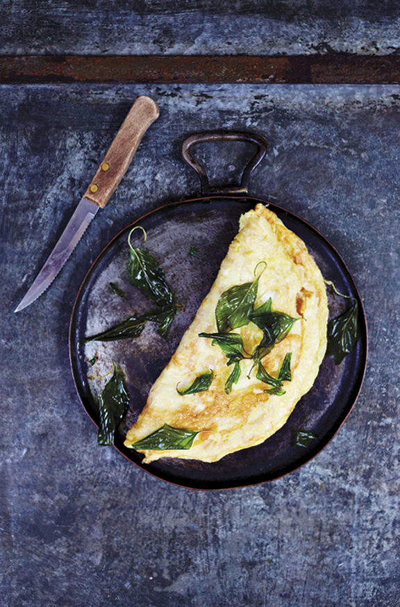 Preserved Radish Omelet from Bangkok Cookbook
