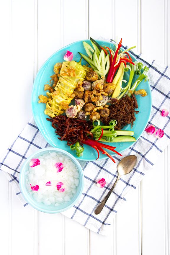 Khao Chae Songkran Bangkok Cookbook Leela Punyaratabandhu